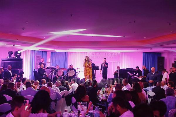 مايا دياب تتالق في حفل طابا بحضور كبير