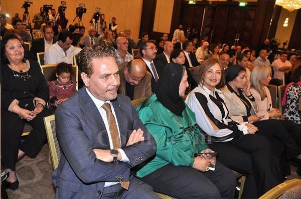 محمد رياض وهاني البحيري ومجدي ابو عميرة والنجوم في توقيع كتاب أيام في بيت المحترم