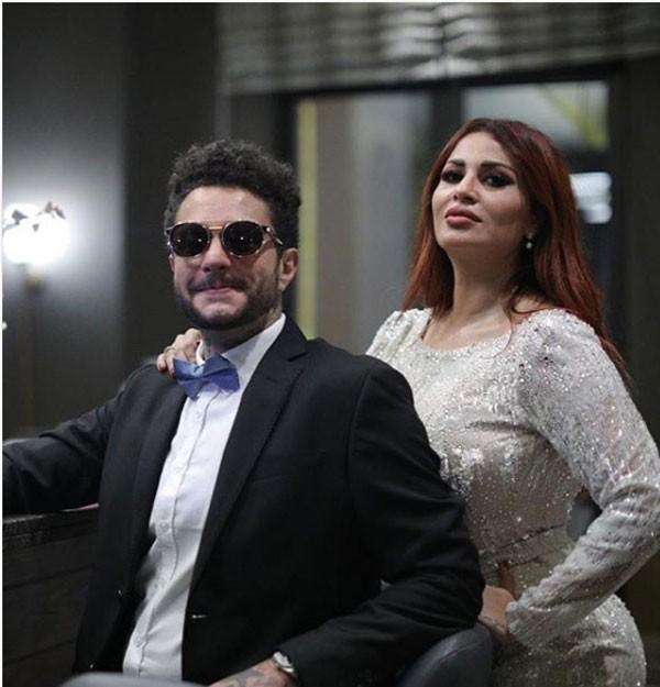 احمد فاروق الفيشاوي وزوجته