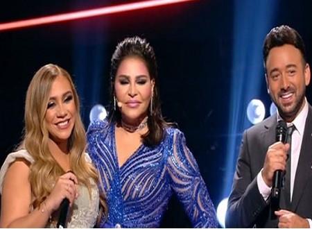 رباب ناجد أول متسابقة حامل في The Voice.. وتصرف أحلام معها يفاجئ الجميع على المسرح.. صور