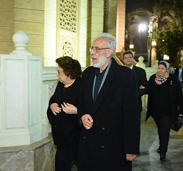 نبيل الحلفاوي وزوجته