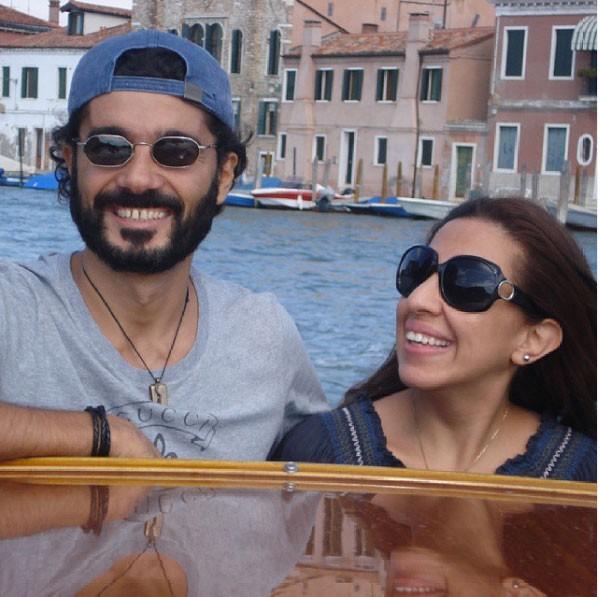 خالد النبوي وزوجته