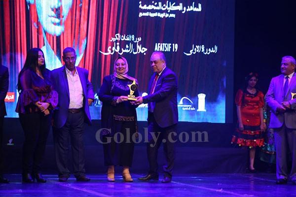 توزيع جوائز الاسكندرية للمسرح العربي وسط حضور النجوم