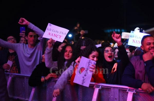 نانسي عجرم و محمود العسيلي يتألقان في حفل الجامعه الالمانيه