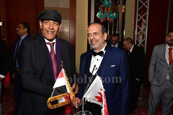 حفل العيد الوطني للبحرين ٤٨ بحضور مجموعه كبير من نجوم الفن والسفراء والوزراء