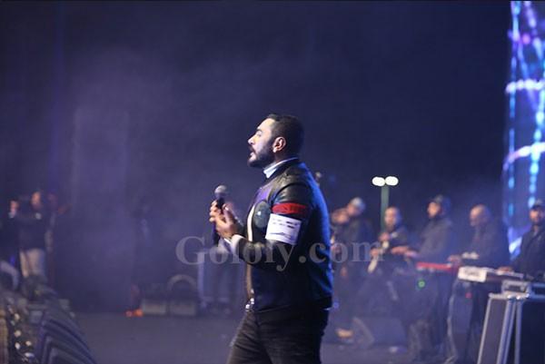 تامر حسني و رامي جمال شعلان حفل المنارة بالتجمع الخامس