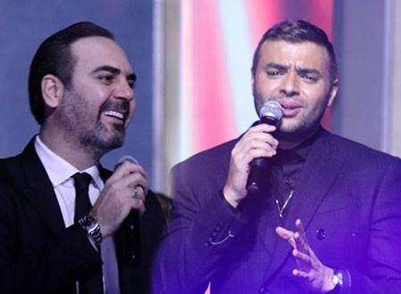 وائل جسار ورامي صبري ومحمود الليثي يشعلون رأس السنة بحفل كامل العدد.. صور