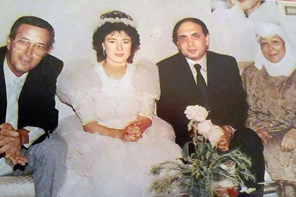 هالة فؤاد وزوجها الثاني