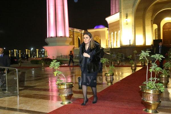 عزاء نجل مايا مرسي