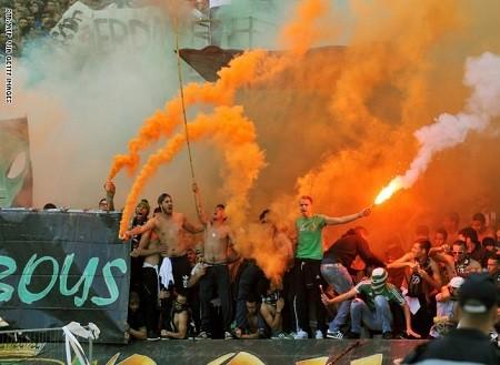 أعمال شغب وإصابات في المغرب بعد مباراة كرة قدم.. صور وفيديو