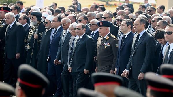 جنازة محمد حسني مبارك