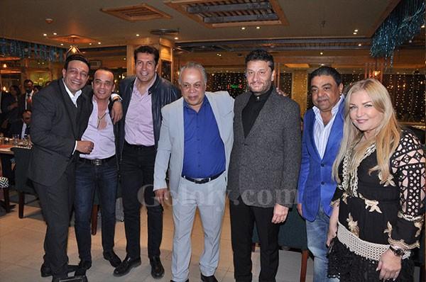 افتتاح معرض اشرف زكي بحضور النجوم