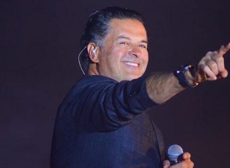 راغب علامة يضم أغنية باللهجة المصرية لألبومه الجديد