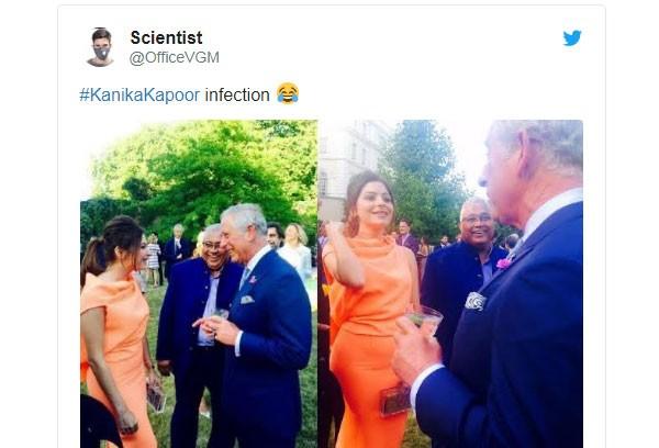 هل تعرضت كانيكا كابور لعدوى كورونا من الأمير تشارلز في لندن؟ تنتشر صورهم على نطاق واسع