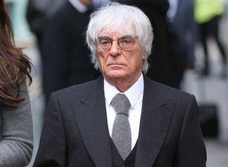 عمره 89 عاما.. عراب «الفورمولا 1» بيرني إكليستون ينتظر مولودا جديدا.. صور
