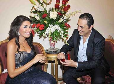خطوبة خالد سرحان و شيماء الحسيني