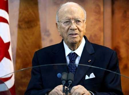 نجوم تونس ينعون الرئيس الراحل قائد السبسي