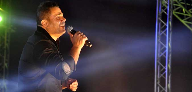 عمرو دياب حفل ستاد الهوكي