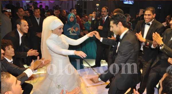 حفل زفاف محمد صلاح