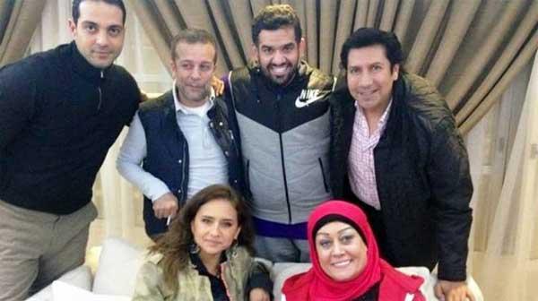 شريف منير نيلي كريم هالة فاخر حسين الجاسمي