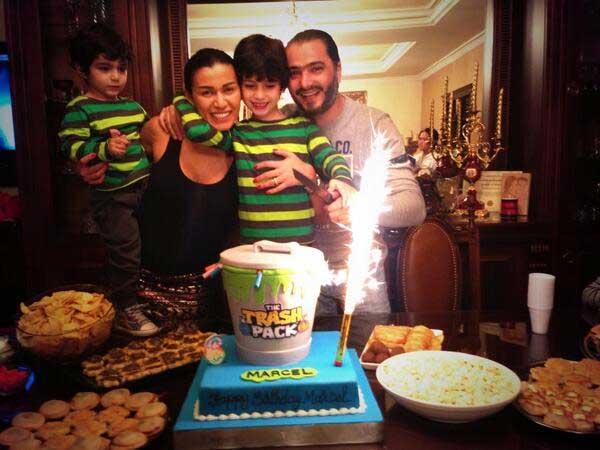 احتفال نادين الراسى بعيد ميلاد ابنها مارشيل بالصور هكذا احتفلت نادين الراسي بعيد ميلاد ابنها2018