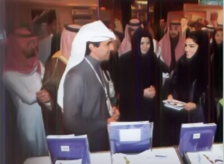 الأميرة أميرة الطويل تفتتح معرض توطين 2012