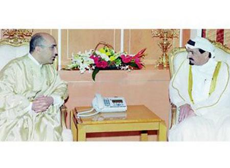 حاكم عجمان يستقبل السفير التونسي