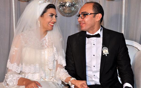 زفاف شقيق دينا فؤاد