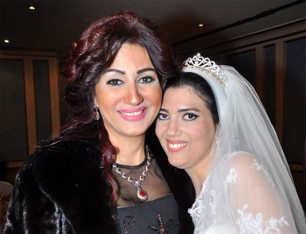 زفاف شقيقة دينا فؤاد