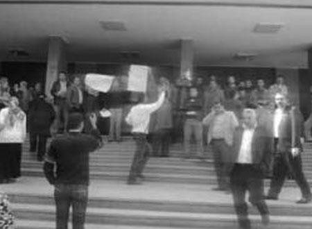 إضراب عمال محاكم مصر