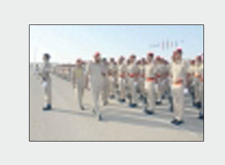 تخريج دفعة جديدة من سرايا الجنود المستجدين