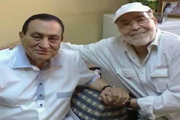 حسني مبارك و حسن يوسف