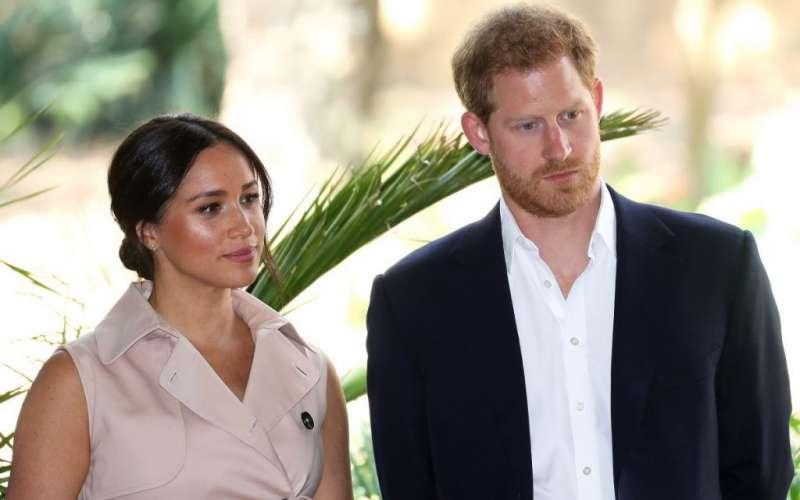 الأمير هاري وزوجته ميجان ماركل