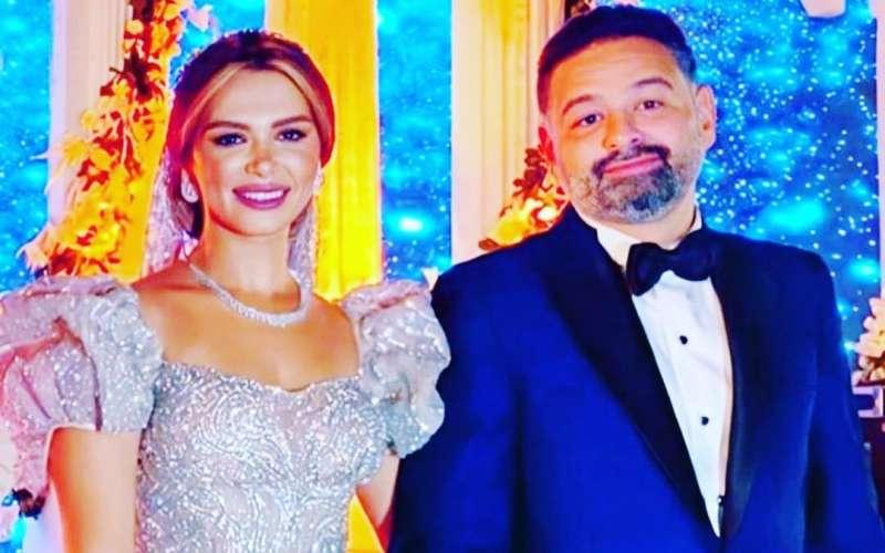 امير شاهين وزوجته