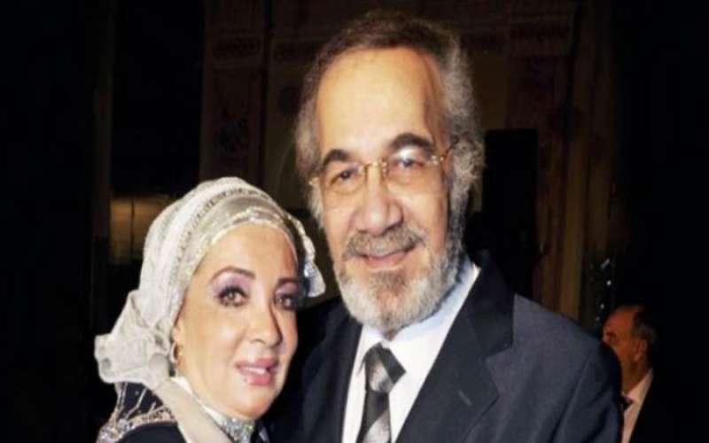محمود ياسين وشهيرة