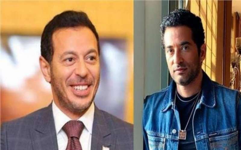 مصطفى شعبان وعمرو سعد