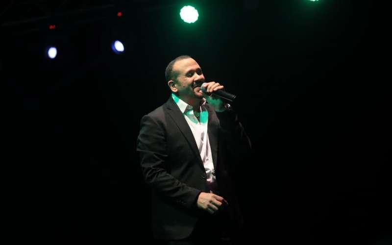 مصطفى قمر وهشام عباس في حفل مهرجان الجونة