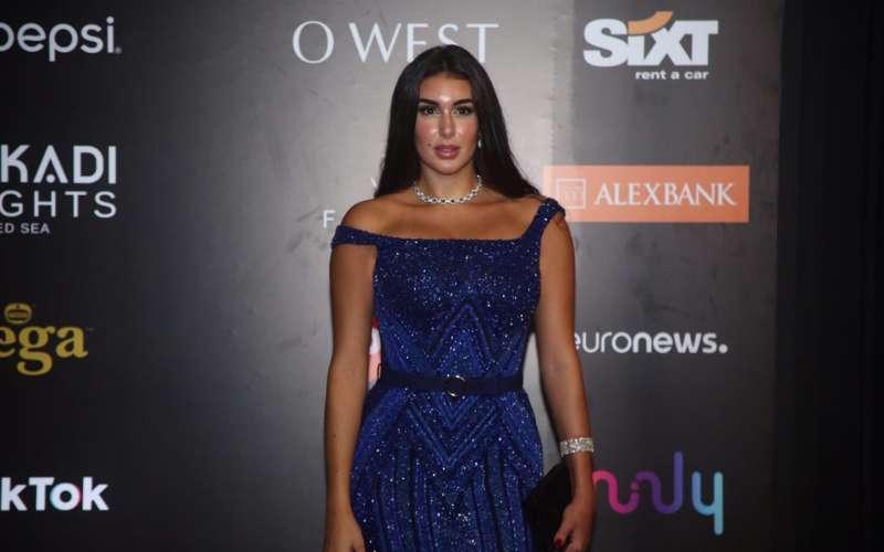 ياسمين صبري في افتتاح مهرجان الجونة