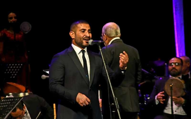 أحمد سعد يحيي حفل مهرجان الموسيقى العربية بأوبرا دمنهور