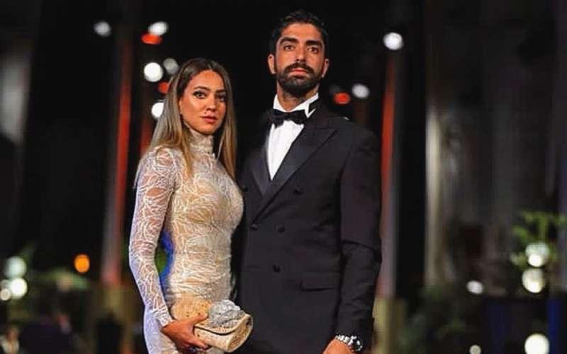 هند عبدالحليم وزوجها