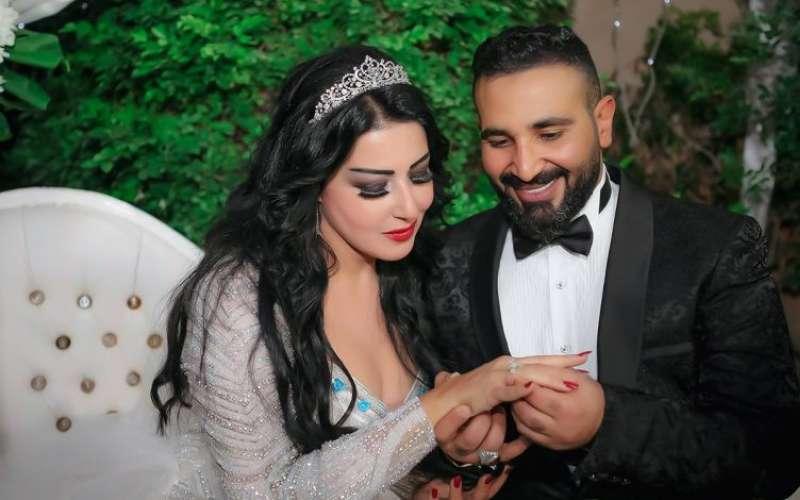 احمد سعد وسمية الخشاب