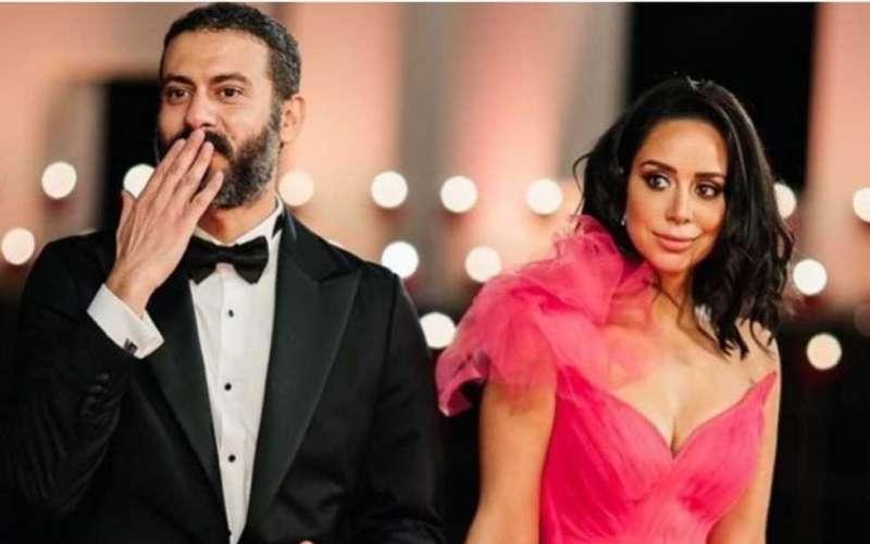 بسنت شوقي ومحمد فراج