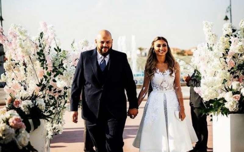 ميار الغيطي وعريسها