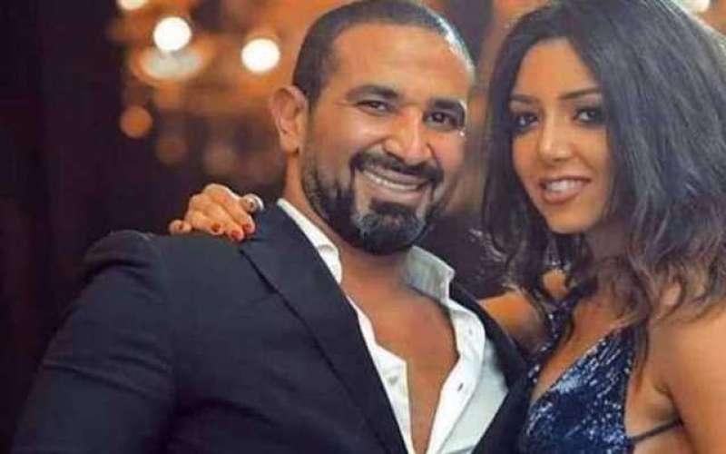 احمد سعد وخطيبته علياء بسيوني