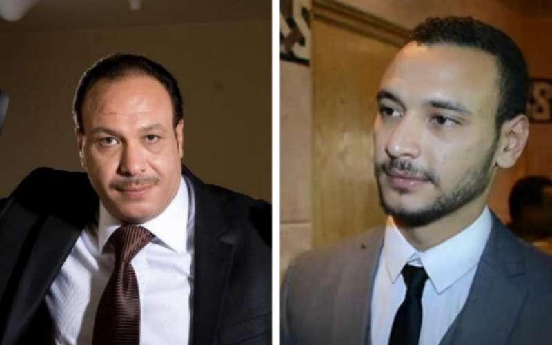 خالد صالح وابنه احمد خالد صالح