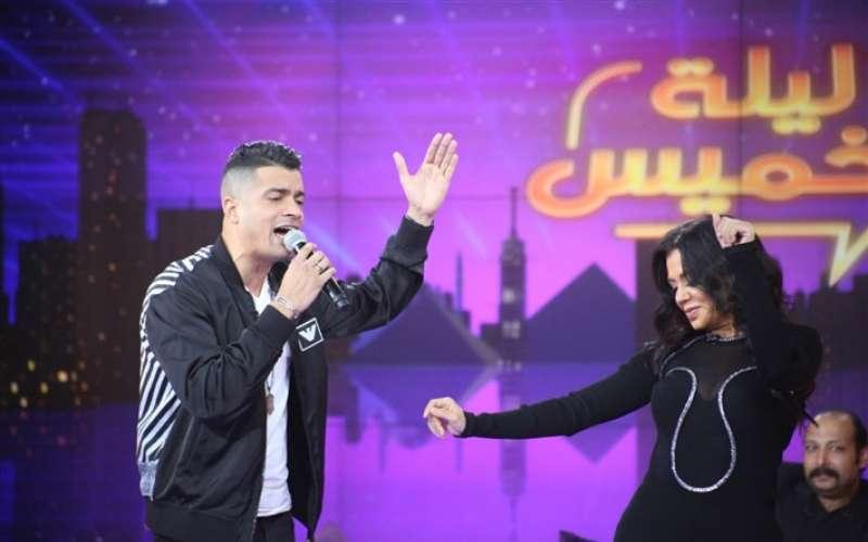 رانيا يوسف وشاكوش ومحمد ثروت ومجدي عبد الغني