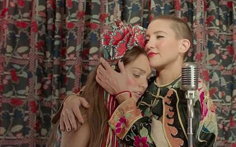 كيت هيدسون وميدي زيجلر  مذهلتان في برومو ترويجي جديد لفيلم Music