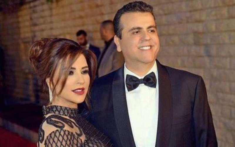 ماجي بو غصن وزوجها جمال سنان