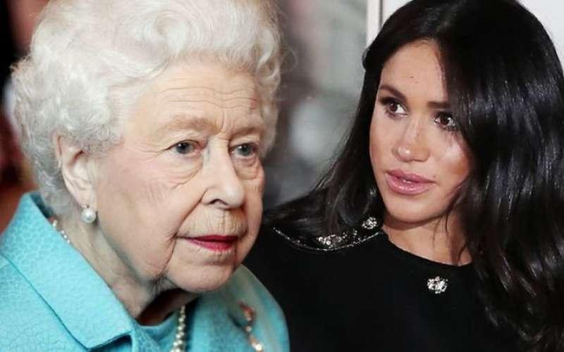 ميجان تعرض العائلة المالكة للخطر