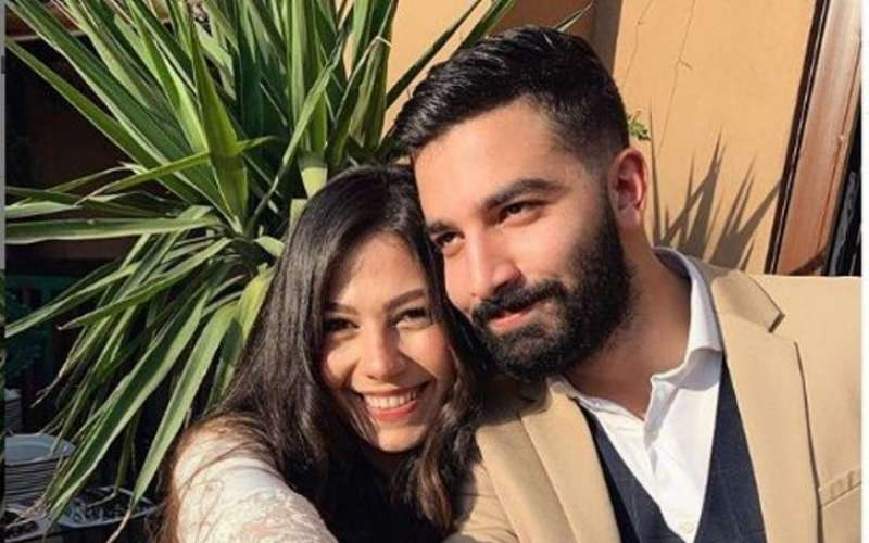 حازم ايهاب وزوجته
